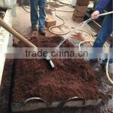 Resistance to corrosion cocopeat dryer/coco peat drying machine with stainless steel material