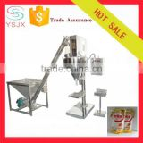 Automatic powder auger hopper filler and Spiral feeding machine / flour weighing packaging machine