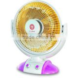Wide angle oscillation Halogen tube electric Heater with 2 heating modes and timer supply to Vietnam,India has CB,CE certificate