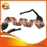 Polyester camera strap with logo printing