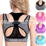 wholesale athletic wear yoga clothing manufacturers sexy cross strap back sports bra