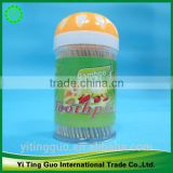 green mint toothpick orange wood toothpicks trade assurance individual packed wooden toothpick