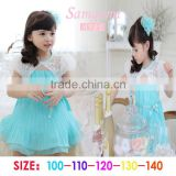 Fashion new baby girls dress girls dresses for 3-8 years