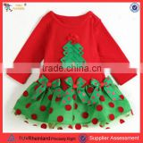 PGCC1666 2016 New design baby winter clothes baby christmas dresses christmas costume for baby