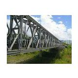 Hot Dip Galvanized and Welding, Braking, Rolling, Shearing Structural Steel Bailey Bridge