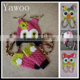 yawoo christmas baby owl hats with gloves sets so cute winter baby hats knitted baby crochet hats