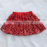 2017 new style Baby sequins skirt latest skirt design pictures factory wholesale