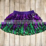 7 colour fashion girl sequin mermaid skirts baby clothes wholesale girl dress sequin skirts