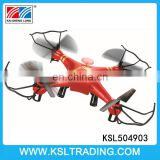 2.4G six axis gyro waterproof rc drone quadcopter toy for sale