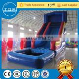 PVC amusement park pool slide inflatable igloo for kids with En14960/EN15649