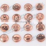 2014 latest zinc alloy snap buttons charms
