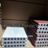 eco-friendly co-extruded soft wpc decking