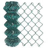Football Field pvc coated chain link fence with good quality