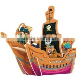 Wholesale DIY 3D wooden toy Pirate Ship