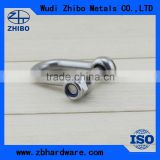 Stainless Steel US Type Security Dee Shackles G2150 with safety pin and nut