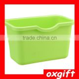 Oxgift (small) Kitchen varia storage box,hanging mode of trash can,creative plastic storage box