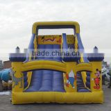 Best sale cheap inflatable slide with stair,use inflatable slide with stair for promotion