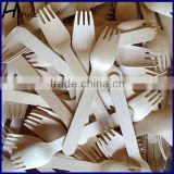 Factory Natural Disposable Wooden Fork SPT013B