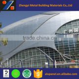 China factory direct waterproof metal cladding for exterior aluminum curtain wall