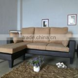 Hot Sell Promotion Fabric & Leather Corner Sofa Furniture                                                                         Quality Choice