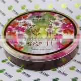 Round Metal Can Cake Tin Box