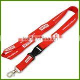 Dongguan manufacturers of professional custom polyester silk screen cell phone lanyard factory direct price