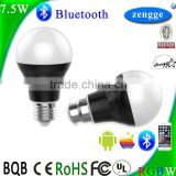 Wall Lamp Led Smart Lighting 7.5w RGBW Bluetooth Led Bulb Smart Home Control System IOS/Android APP