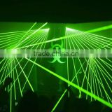 price high power conversion 10W laser green projector lighting