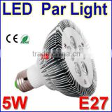 5W high power led E27 Par 30 LED Spotlights with 5 leds PAR30 Downlight Ceiling Spot Light Lamp Bulb
