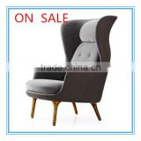 on sales chair RO lounge chair new design high back soft comfortable indoor chaise lounge