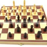 wooden material foldable international chess board games for adult