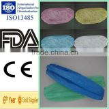 Disposable Plastic Sleeve Cover with Elastic