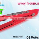 CE FCC ROHS Certification and Ceramic Plate Type professional electrical hair straightener free sample