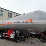 24.55Tons propane gas tank trailer for sale, 3 axles lpg trailer