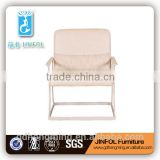 Cheap good quality Chair stock White chaise longue sling deck chair indoor balcony Chair