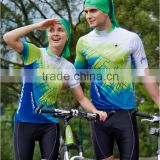 Couples dress fuming apparel sportswear bicycle custom cycling jerseys cycling wear