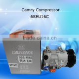 Car compressor for air conditioner Camry 2.4 10S17C hihg quality a/c compressor 12v/24v