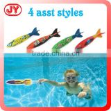 Funny diving toys shark underwater torpedo toy for swimming pool