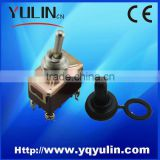 KN3A-223 waterproof metal electrical latching 2 position toggle switch