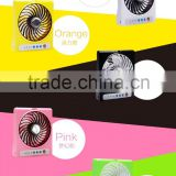 Cheap Price Table Fan Small Electric Hand Fan Stand USB Fan For Phone Charge