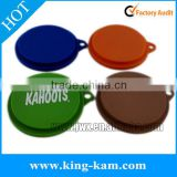 high quality silicone pet tin cover