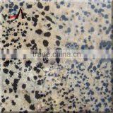 Mottled stone semi precious stone slab for decoration,tabletop,kitchen countertop,TV background
