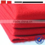 plain new product fabric factory in china/single face brushed knit fabric