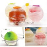 4pcs/set Plastic Novelty Lovely Round Ball Tray Mold Mould Party Bar Ice Cube Maker Ice Ball Tools