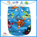 New Cartoon Print Nappies Baby Reusable Cloth Diapers Bulk In China                                                                         Quality Choice