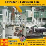 Extruding usage pvc plastic coating equipment extruder machine for electric wire production
