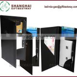 High quality free sample cheap black check presenter for promotion                                                                         Quality Choice