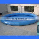Round inflatable water pool for kids, mini outdoor swimming pool
