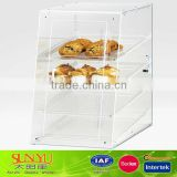Clear 4 Tray Bakery Display Case Manufacturer