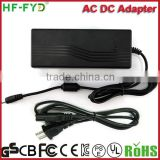Factory Hot selling~ 12 volt 5amp power supply AC DC adapter 100-240V power supply 12volt 5amp power supply
